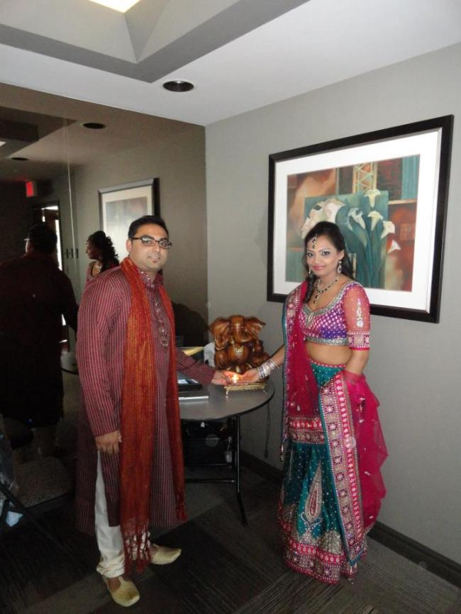 Tejal and Krunal Engagement party
