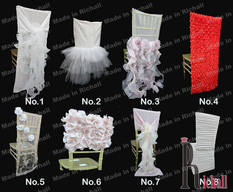 next time your looking at chair covers be creative and think outside