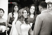 Ceremony between the bride and the groom