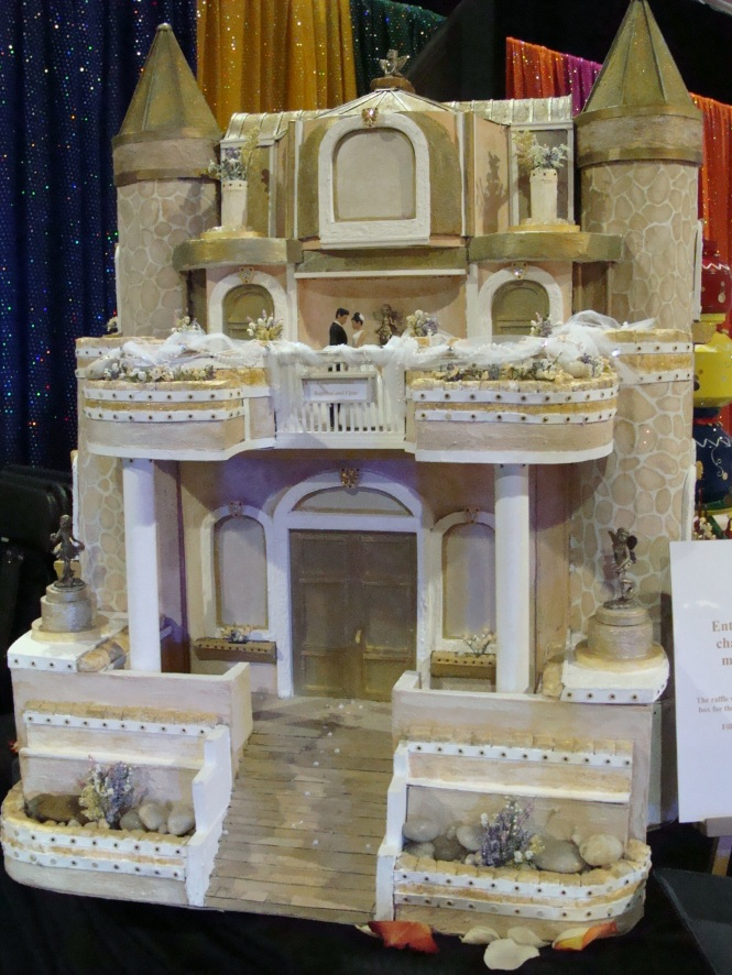 Castle for the bride and groom