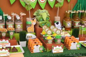 It's a Jungle out there theme baby shower