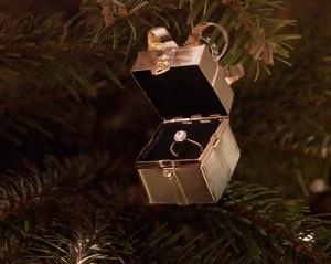 Christmas tree engagement