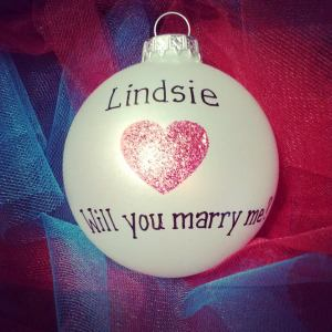 Christmas ornament proposal
