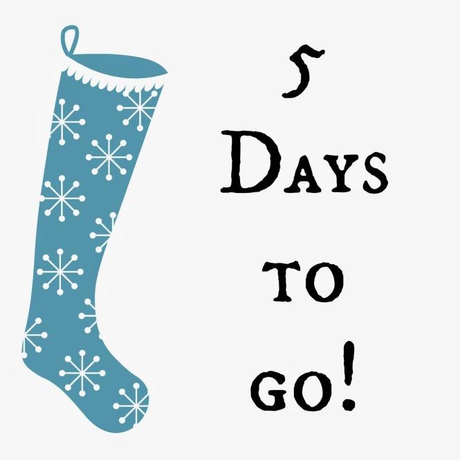 CHRISTMAS COUNTDOWN….5