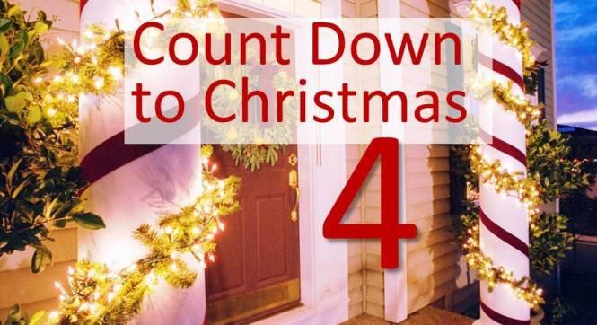 CHRISTMAS COUNTDOWN… 4