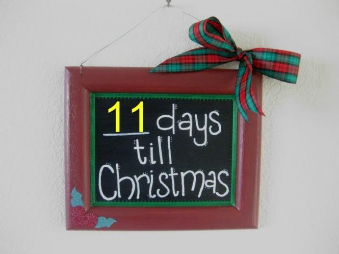 CHRISTMAS COUNTDOWN…11