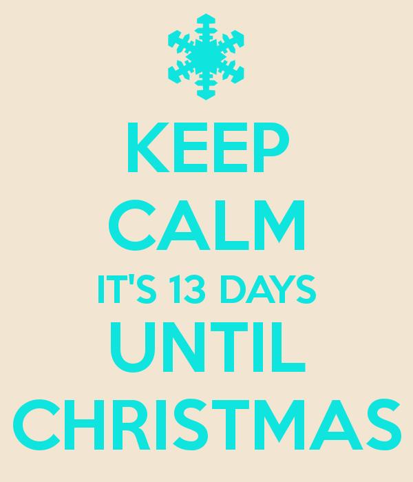 CHRISTMAS COUNTDOWN 13
