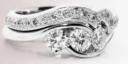 Matching-Shaped-Wedding-Rings-To-Engagement-Rings