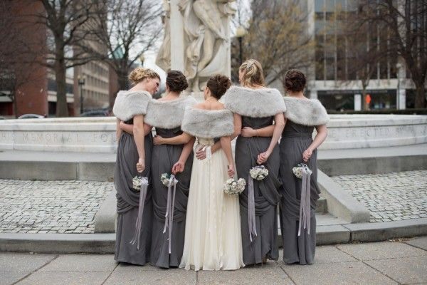 winter-wedding-grey-bridesmaids
